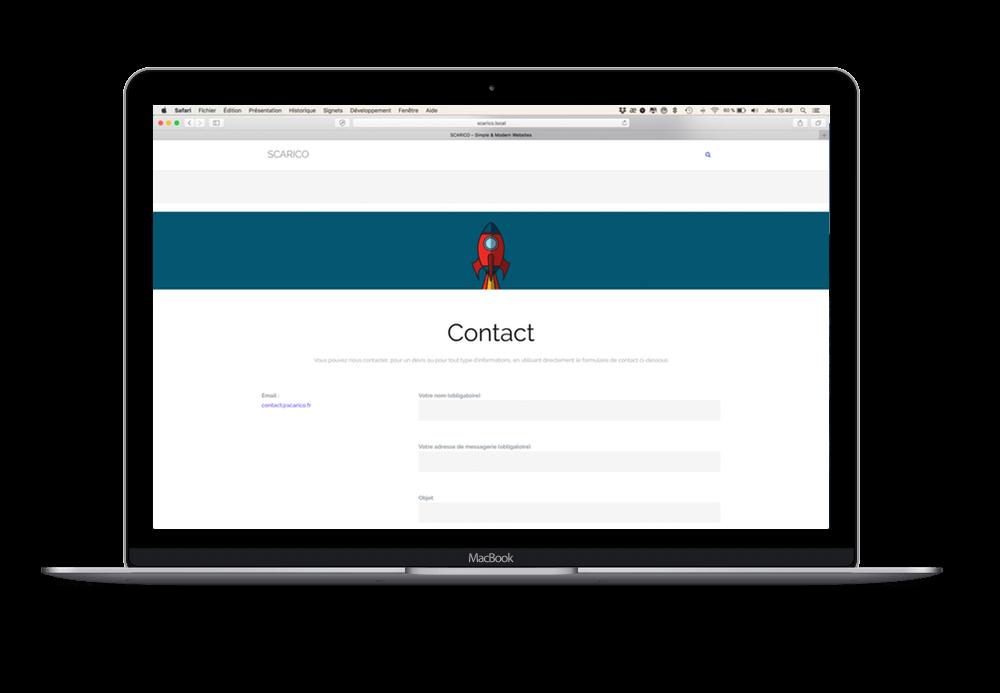 Un site simple pour votre entreprise